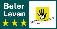 beter leven keurmerk 3 sterren logo