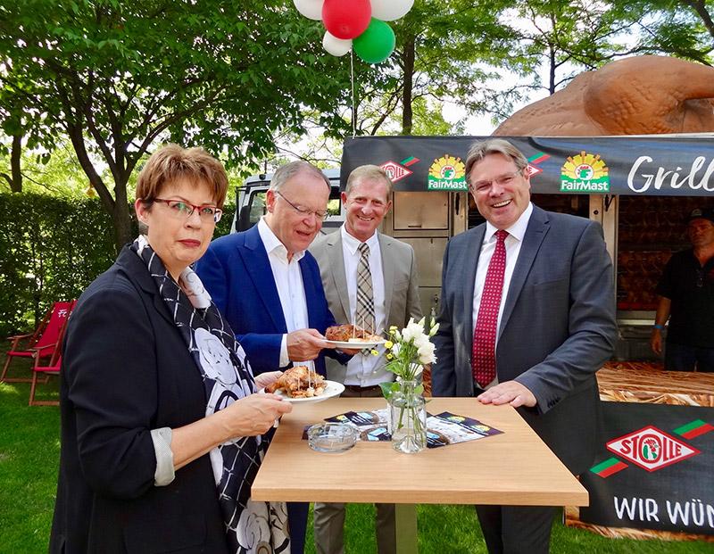 FairMast Hähnchen zum Sommerfest